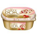 Carte D'Or Gelateria Strawberry & Meringues Lody 900 ml